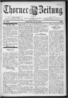 Thorner Zeitung 1899, Nr. 150 Erstes Blatt