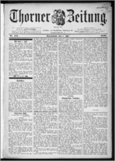 Thorner Zeitung 1899, Nr. 152 Erstes Blatt
