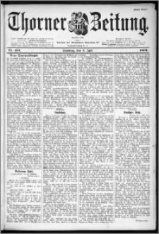 Thorner Zeitung 1899, Nr. 153 Erstes Blatt