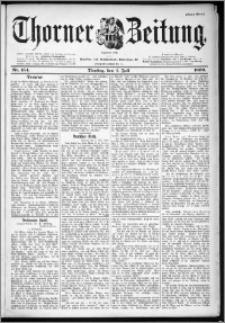 Thorner Zeitung 1899, Nr. 154 Erstes Blatt