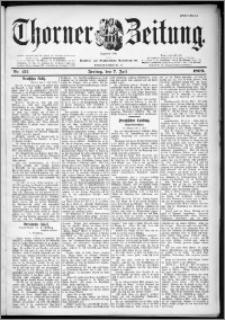 Thorner Zeitung 1899, Nr. 157 Erstes Blatt