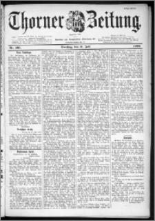 Thorner Zeitung 1899, Nr. 160 Erstes Blatt