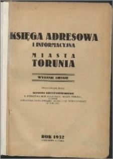 Księga adresowa i informacyjna miasta Torunia