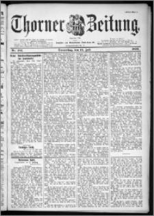 Thorner Zeitung 1899, Nr. 162 Erstes Blatt