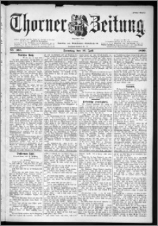Thorner Zeitung 1899, Nr. 165 Erstes Blatt