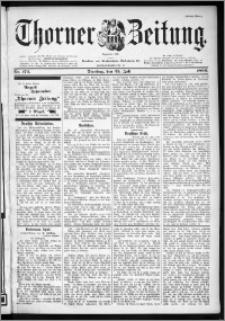 Thorner Zeitung 1899, Nr. 172 Erstes Blatt
