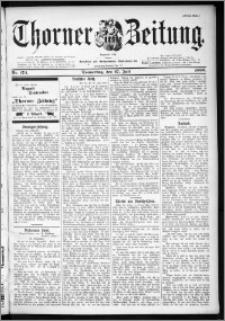 Thorner Zeitung 1899, Nr. 174 Erstes Blatt