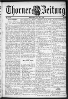 Thorner Zeitung 1899, Nr. 174 Zweites Blatt