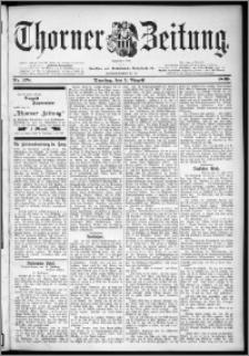 Thorner Zeitung 1899, Nr. 178