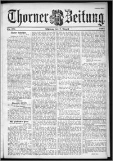 Thorner Zeitung 1899, Nr. 179 Zweites Blatt