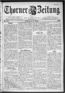 Thorner Zeitung 1899, Nr. 183 Erstes Blatt
