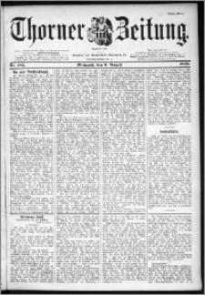 Thorner Zeitung 1899, Nr. 185 Erstes Blatt