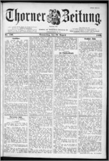 Thorner Zeitung 1899, Nr. 186 Erstes Blatt