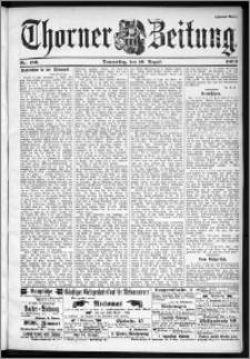 Thorner Zeitung 1899, Nr. 186 Zweites Blatt