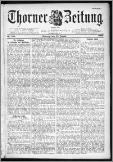 Thorner Zeitung 1899, Nr. 189 Erstes Blatt