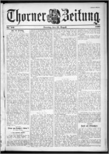 Thorner Zeitung 1899, Nr. 189 Zweites Blatt