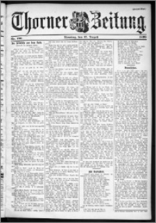 Thorner Zeitung 1899, Nr. 190 Zweites Blatt