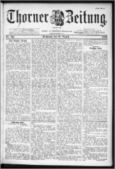 Thorner Zeitung 1899, Nr. 191 Erstes Blatt