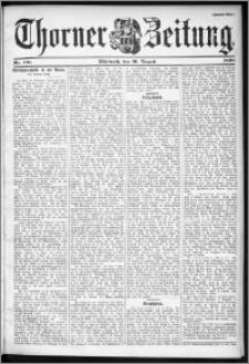Thorner Zeitung 1899, Nr. 191 Zweites Blatt