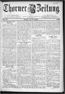 Thorner Zeitung 1899, Nr. 195 Erstes Blatt