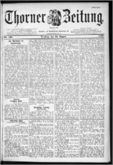 Thorner Zeitung 1899, Nr. 196 Erstes Blatt