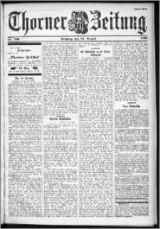 Thorner Zeitung 1899, Nr. 196 Zweites Blatt