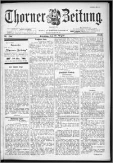 Thorner Zeitung 1899, Nr. 201 Erstes Blatt