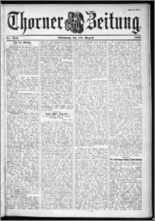 Thorner Zeitung 1899, Nr. 203 Zweites Blatt