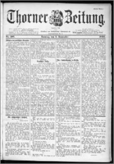 Thorner Zeitung 1899, Nr. 207 Erstes Blatt