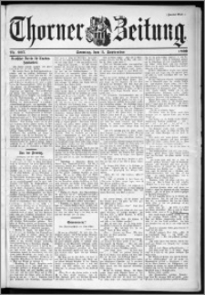 Thorner Zeitung 1899, Nr. 207 Zweites Blatt