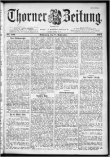 Thorner Zeitung 1899, Nr. 209 Erstes Blatt
