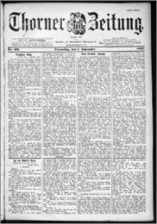 Thorner Zeitung 1899, Nr. 210 Erstes Blatt