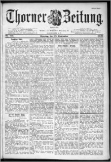 Thorner Zeitung 1899, Nr. 213 Erstes Blatt