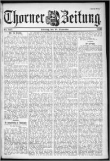 Thorner Zeitung 1899, Nr. 213 Zweites Blatt