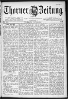 Thorner Zeitung 1899, Nr. 214 Erstes Blatt