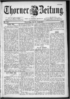Thorner Zeitung 1899, Nr. 216 Erstes Blatt
