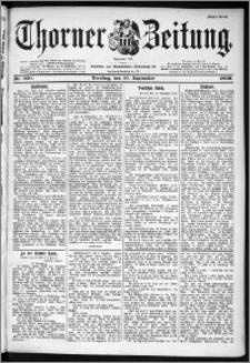 Thorner Zeitung 1899, Nr. 220 Erstes Blatt