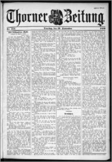 Thorner Zeitung 1899, Nr. 220 Zweites Blatt