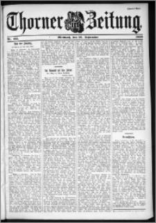Thorner Zeitung 1899, Nr. 221 Zweites Blatt