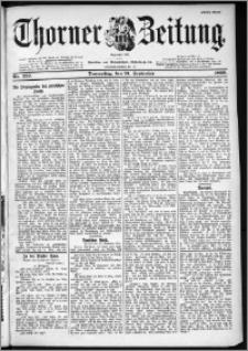 Thorner Zeitung 1899, Nr. 222 Erstes Blatt