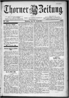 Thorner Zeitung 1899, Nr. 225 Erstes Blatt