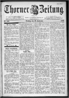 Thorner Zeitung 1899, Nr. 226 Erstes Blatt