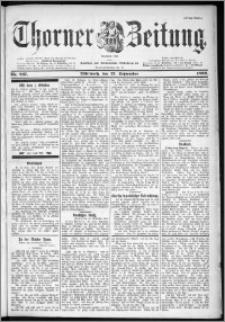 Thorner Zeitung 1899, Nr. 227 Erstes Blatt