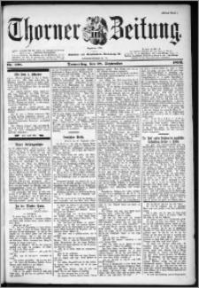 Thorner Zeitung 1899, Nr. 228 Erstes Blatt
