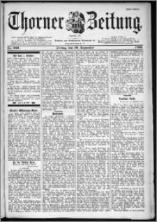 Thorner Zeitung 1899, Nr. 229 Erstes Blatt