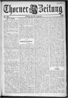Thorner Zeitung 1899, Nr. 229 Zweites Blatt