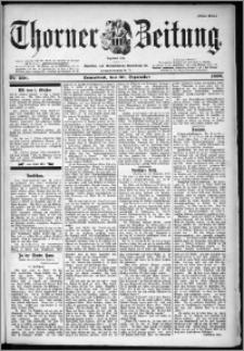 Thorner Zeitung 1899, Nr. 230 Erstes Blatt