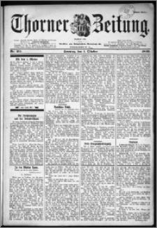 Thorner Zeitung 1899, Nr. 231 Erstes Blatt
