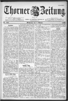 Thorner Zeitung 1899, Nr. 233 Erstes Blatt