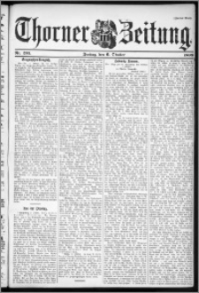 Thorner Zeitung 1899, Nr. 235 Zweites Blatt